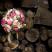 Svatební kytice - pivoňky, růžičky a luční kvítí