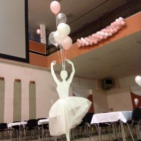 Maturitní ples- balonková výzdoba 5