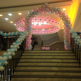 Maturitní ples- balonková výzdoba 6