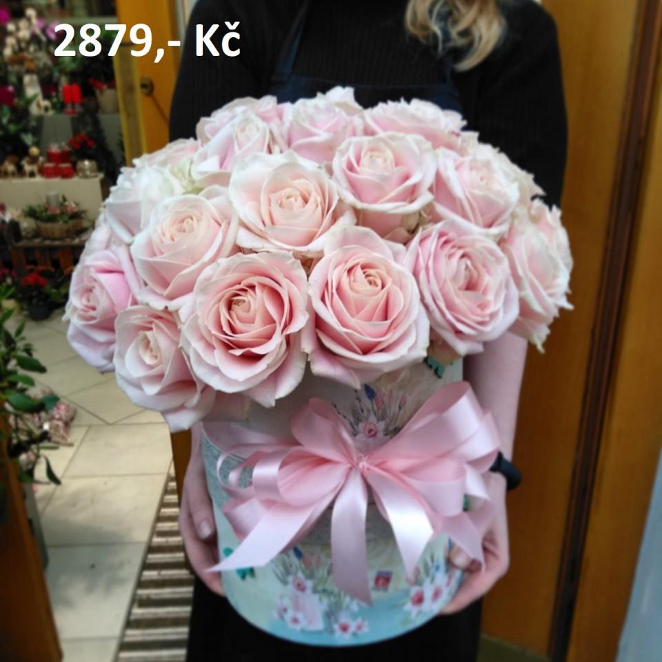 Flower Box - Květiny s darovanými penězi