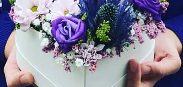 Potěšte milou Flower boxem