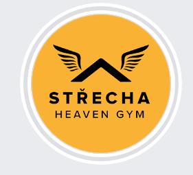 Střecha Heaven Gym - logo